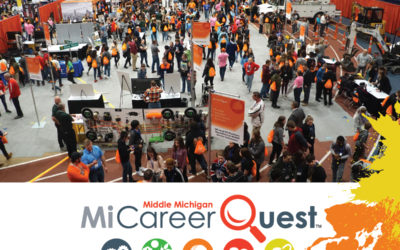 Employers WOW Students at Inaugural MiCareerQuest Middle Michigan